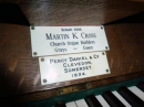 Organ Plaque