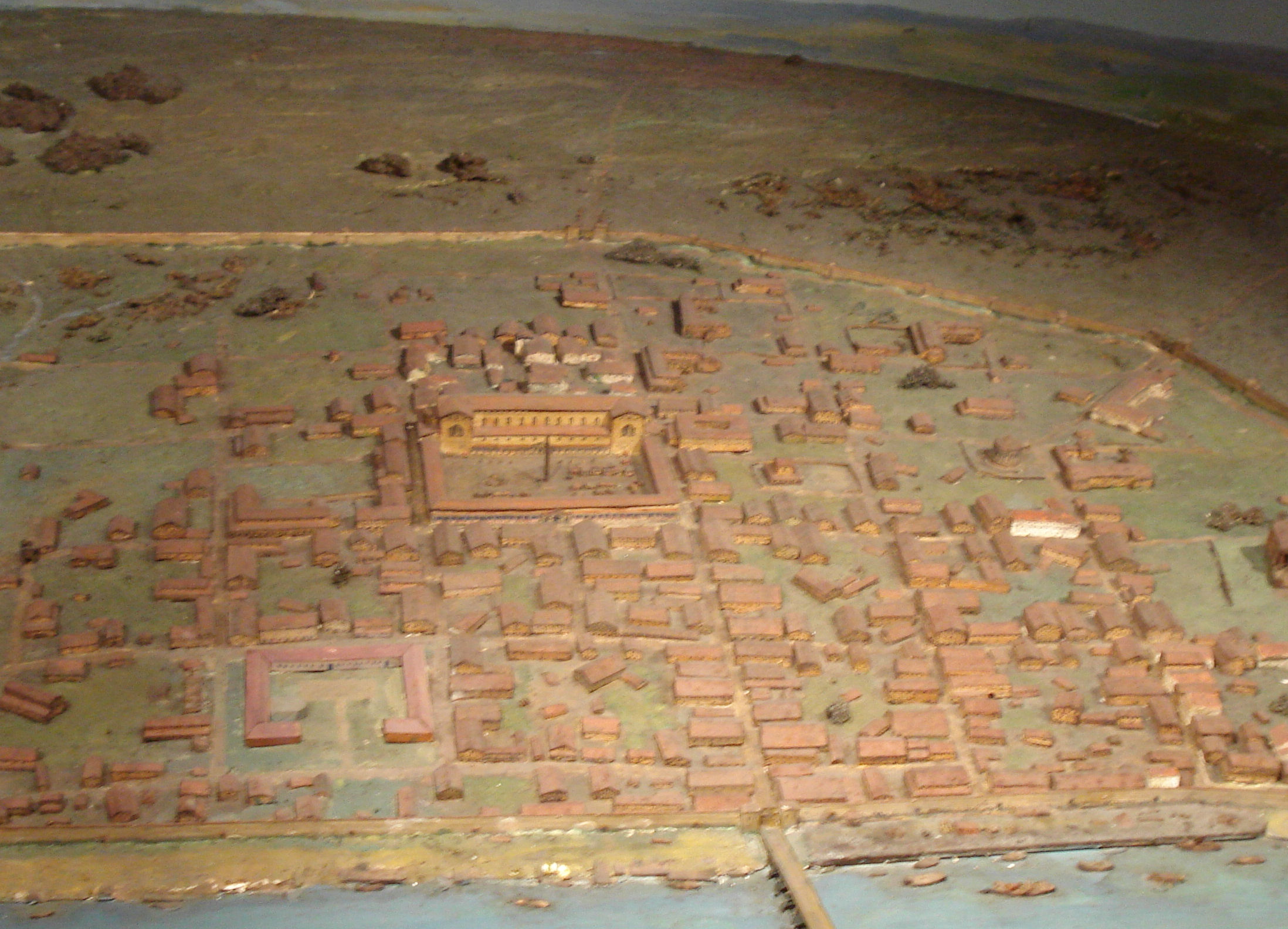 model of Roman London