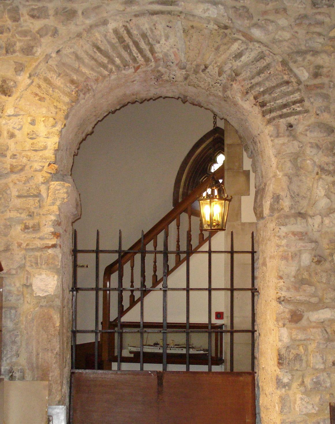 Saxon arch