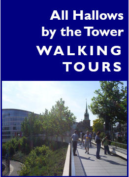 walking tour brochure