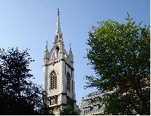spire of st dunstans