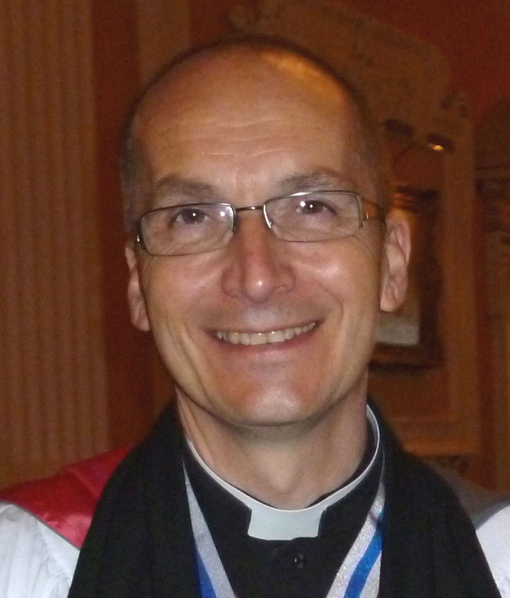 The Rev'd Bertrand Olivier, Vicar