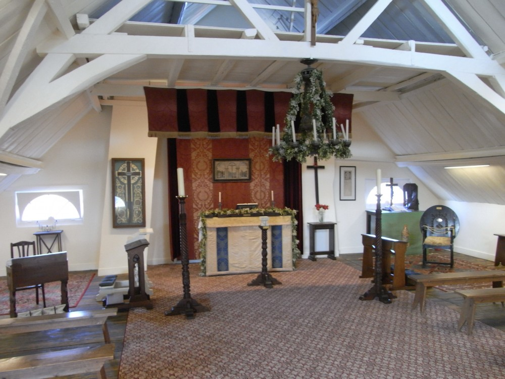 The upper room at Talbot House, Poperinge