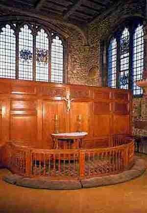 Mariners Chapel altar
