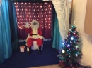 Father Christmas in his grotto