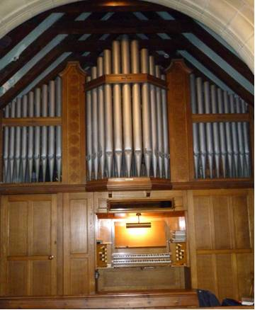Pipe Organ St Mary Gate Helmsley