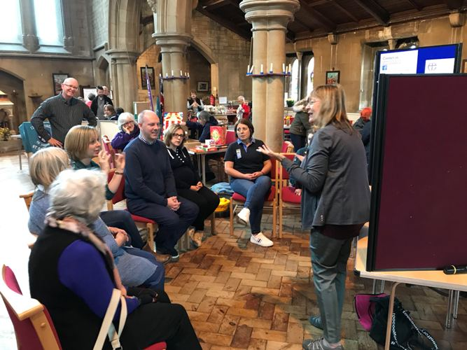 Open Welcoming in the community at St Barnabas Church's Open Day