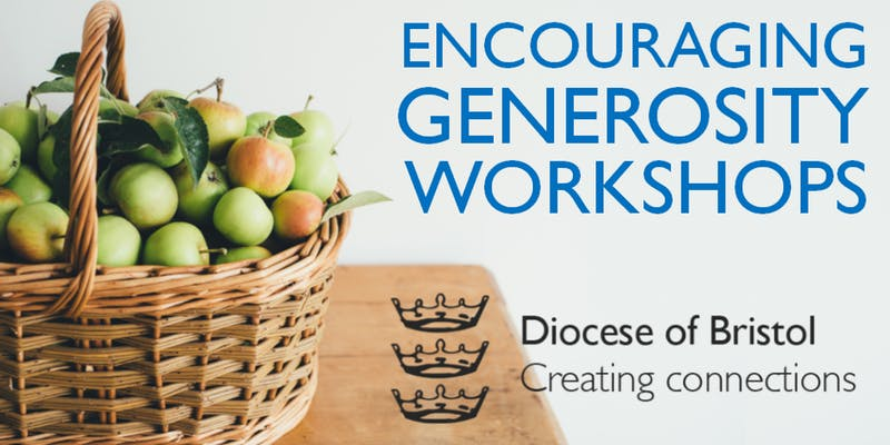 Open Encouraging Generosity workshops 2019