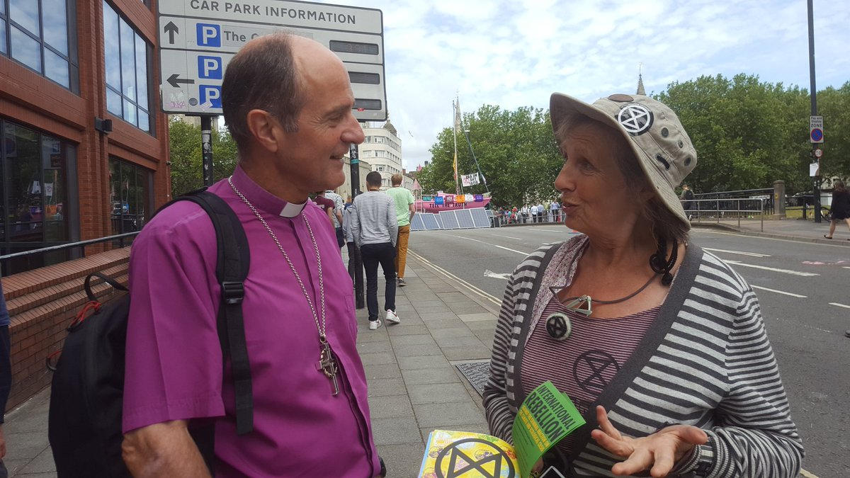 Open Bishop hears from Extinction Rebellion protesters in Bristol