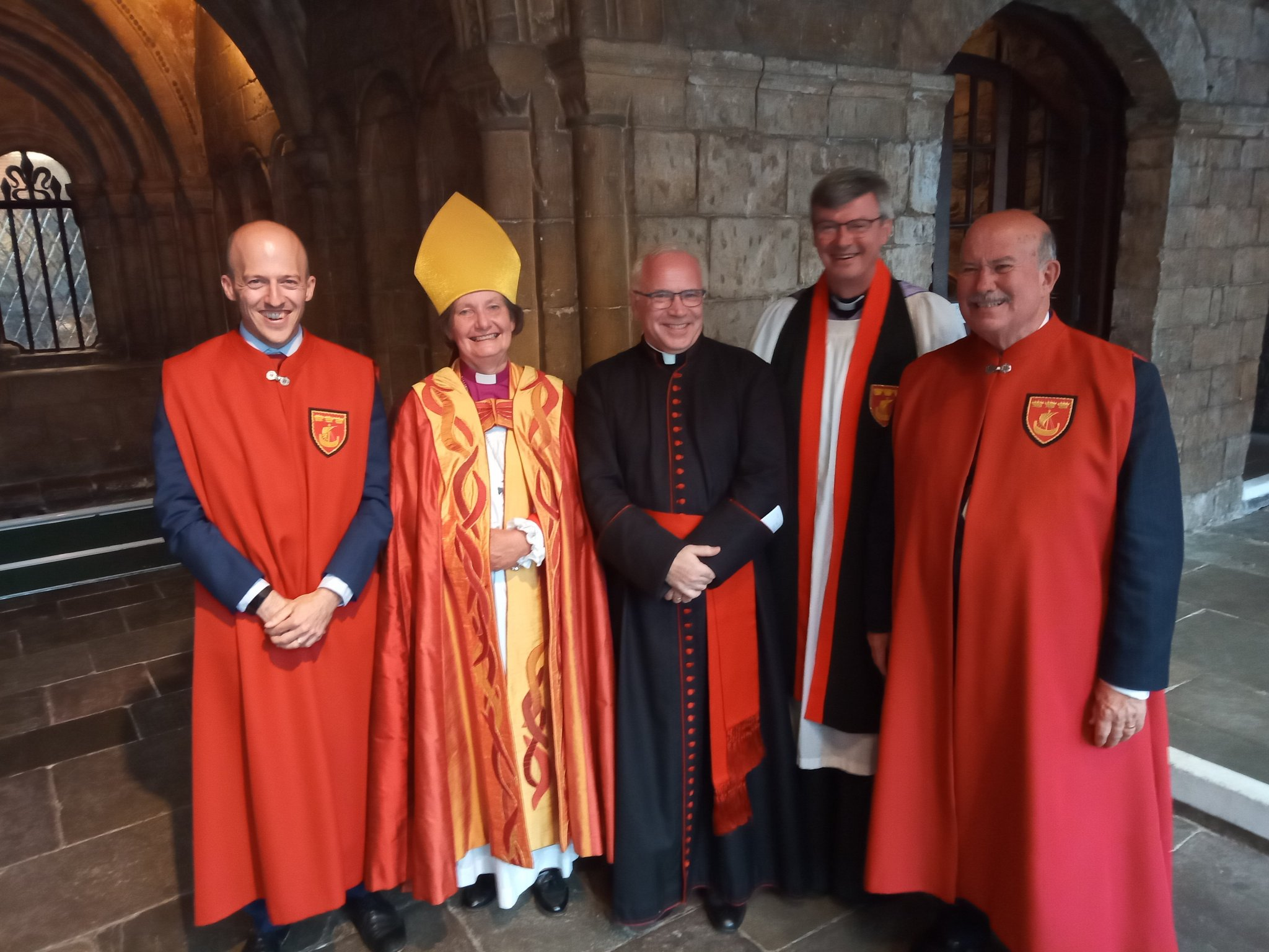 Open Installation of new canons at Bristol Cathedral