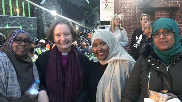 Open Bishop Viv joins faith communities at Grand Iftar