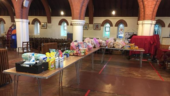 Open South Bristol church offers support to local food bank