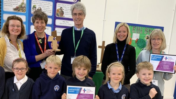Open Church School Partnership Award for Christ Church Infants & Christ Church Downend