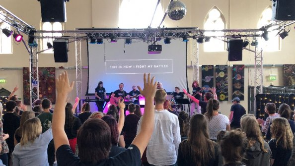 Open Pattern Church celebrates first birthday!