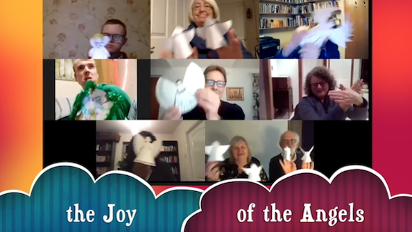 Open The Joy of the Angels: an accessible online advent service