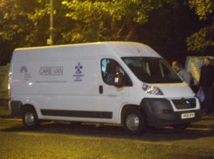 A picture of the Care Van