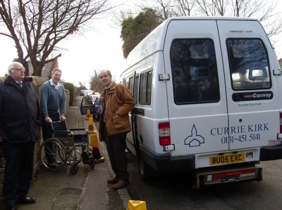The Currie Kirk Minibus
