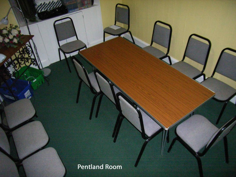 A photo of the Pentland Room
