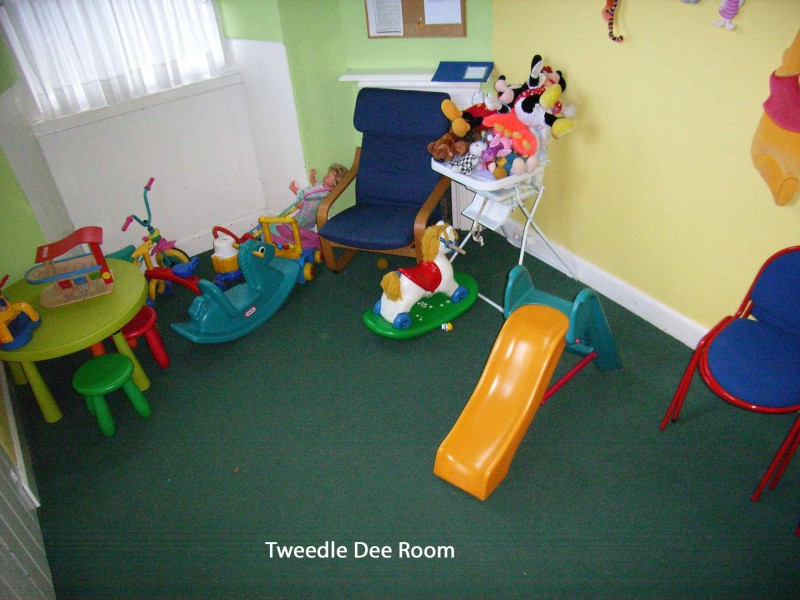 A photo of the childrens room