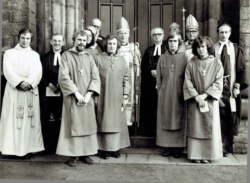 Dedication of CKL, Feb 8th 1975, St. George's New Mills