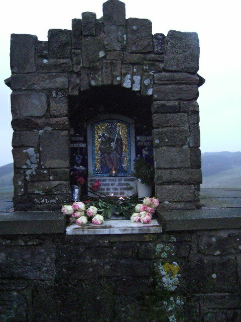 Shrine on the road to Goyt Valley