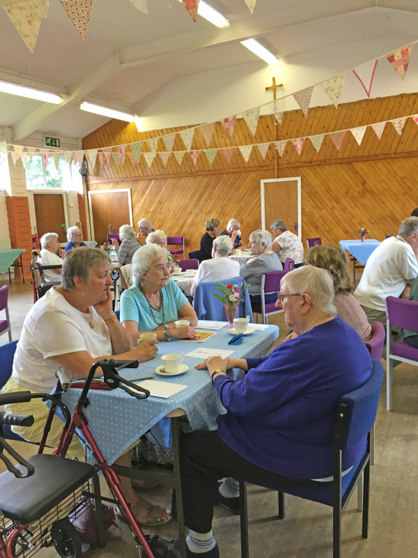 Tuesday 30th July Tea and Natter