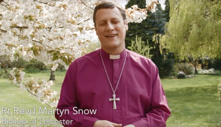 Open Bishop Martyn shares the Easter message of reconciliation