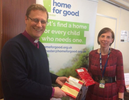 Open Bishop Martyn becomes Patron of adoption/fostering charity