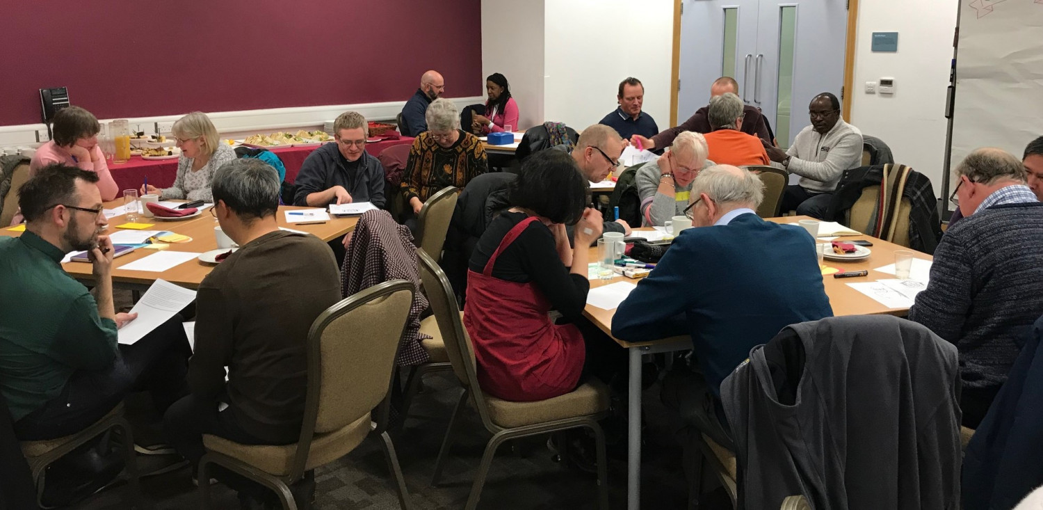 People from 15 churches gathered as part our Intercultural Worshipping Communities project