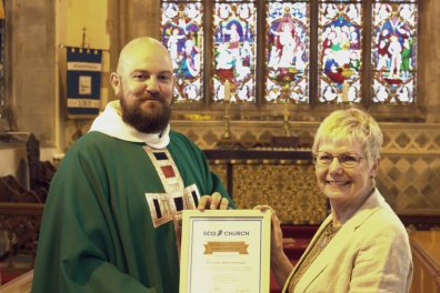 Open Everyday eco action wins St Di's Church a bronze award