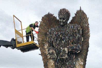 Open Appeal for help bring the Knife Angel to Leicester