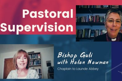 Open Bishop Guli and Helen Newman discuss Pastoral Supervision