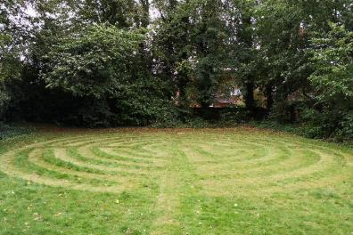 Open Prayer Labyrinth created for the community