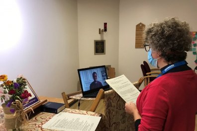 Open Revd Hilary Lomax Made New Hospital Chaplain Via Zoom