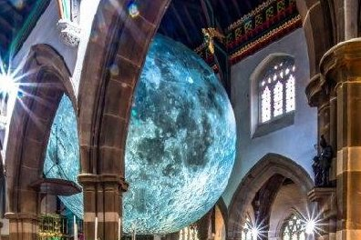 Open The Moon returns to Leicester Cathedral with 'One Giant Leap'.