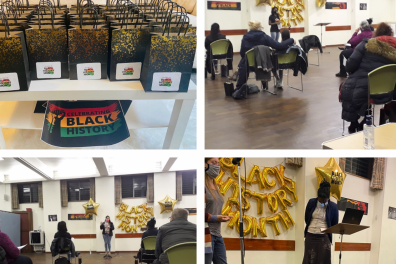 Open Black History Month at Roots IWC