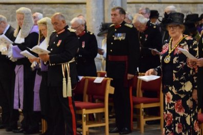 Open Leicestershire thanksgiving at the annual County Service