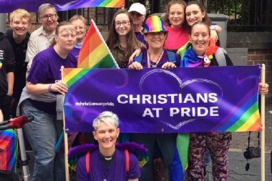 Open Christians at PRIDE