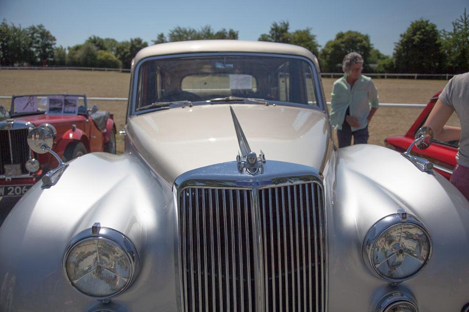 Immaculate classic car