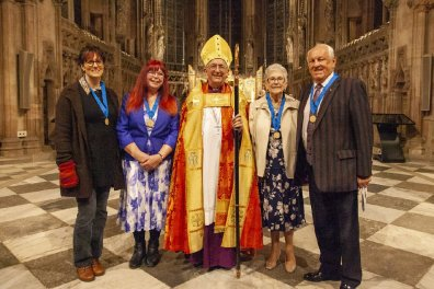 Open Unsung heroes celebrated at cathedral