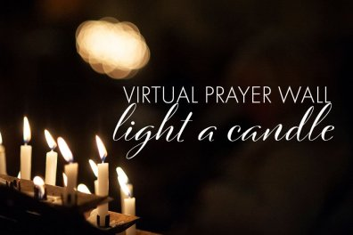 Open Virtual Prayer Wall and 'Light a candle' at Lichfield Cathedral
