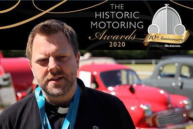 Open Shrewsbury vicar nominated for global motoring award