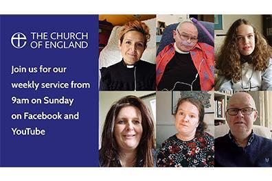 Open Shropshire vicar leads national online service