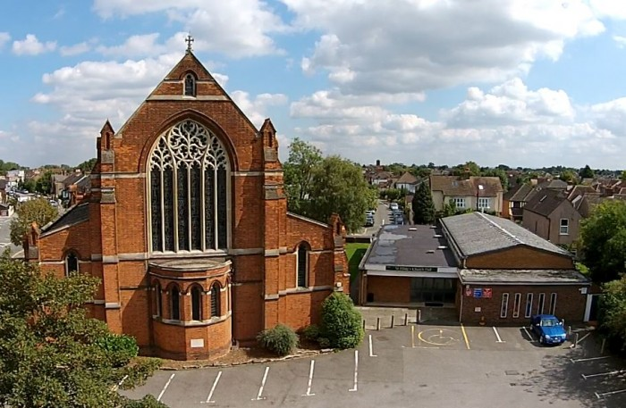 West view of St Hilda's site
