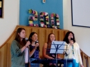Anniversary weekend 2016 - The girls singing