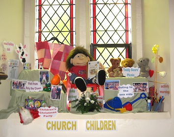 church_children_display