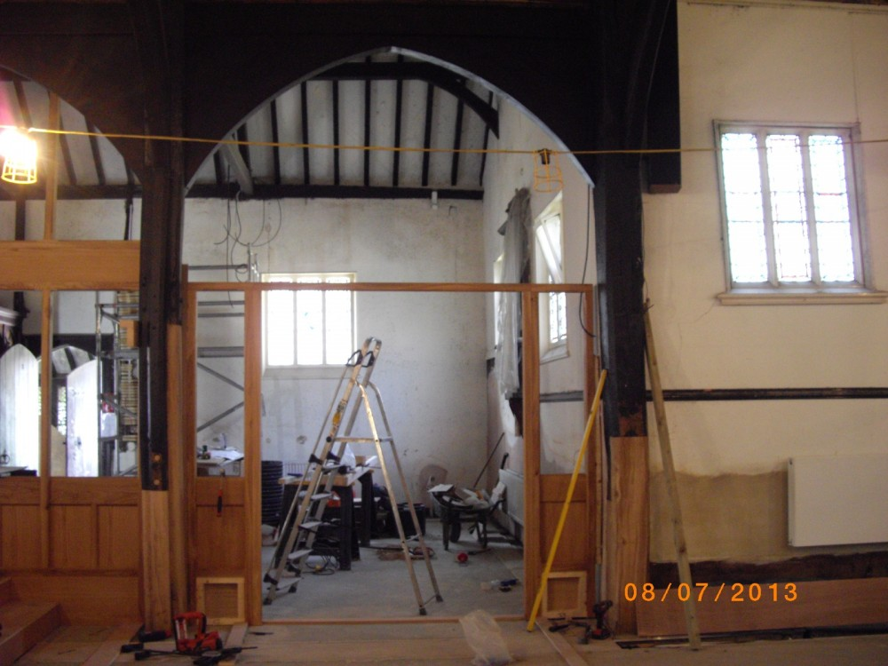 Work on the Community Room