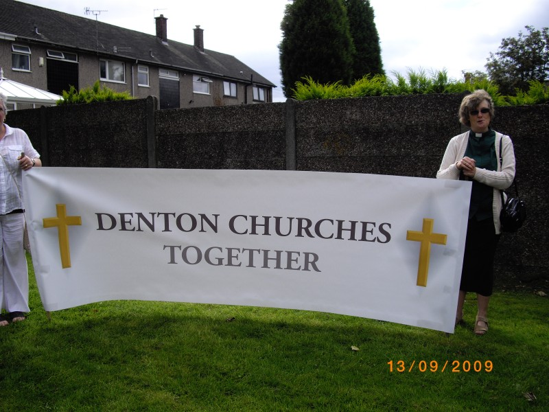 Denton Churches Together Banner