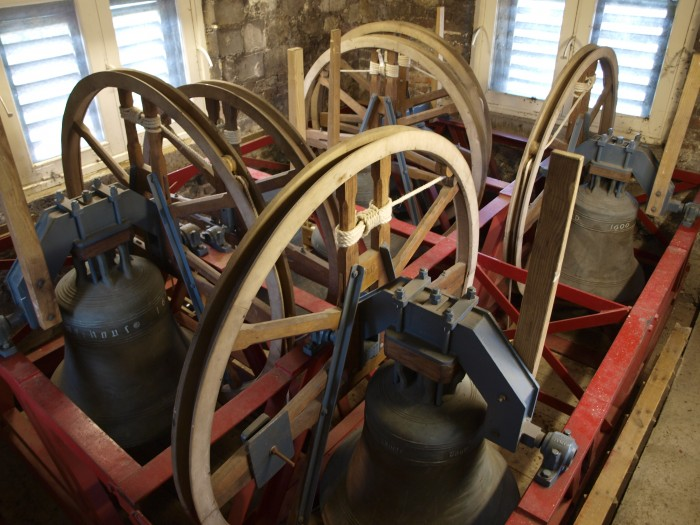 Bells in Church Tower