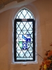 Stained Glass Window with Crest